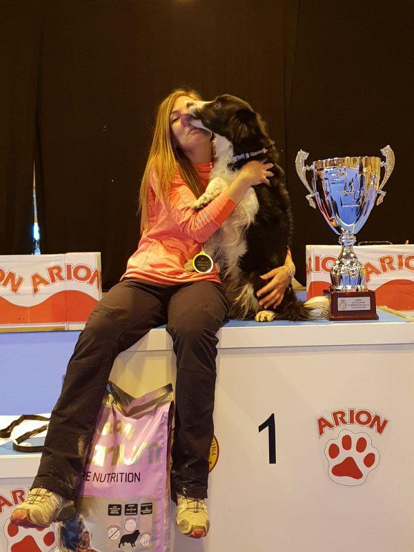 Sheila campeona