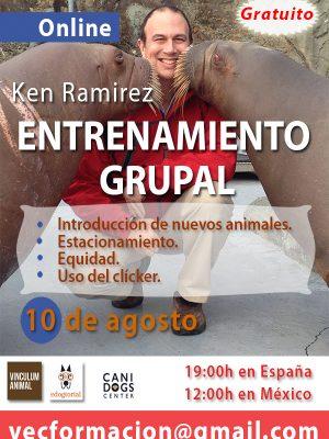 Ken Ramirez. Entrenamiento grupal
