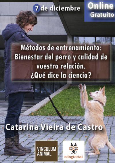Webinario métodos de entenamiento y bienestar canino