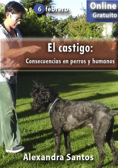 El castigo:consecuencias en perros y humanos. Alexandra Santos