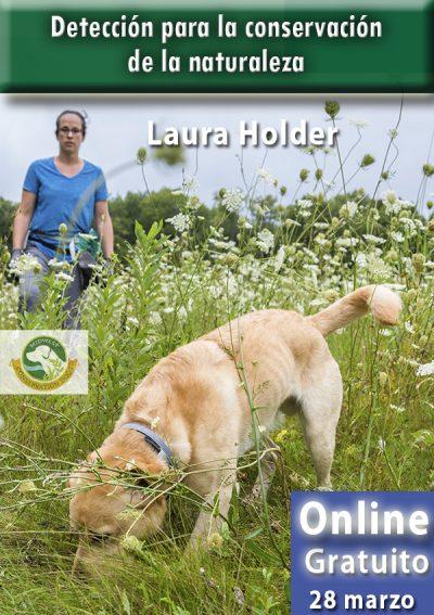 Detección par ala conservación de la naturaleza. Laura Holder.