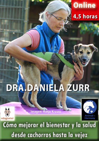 Cómo mejorar el bienestar y la salud desde cachorros hasta la vejez. Dra. Daniela Zurr