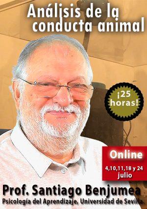 Análisis de la conducta animal. Profesor Santiago Benjumea.