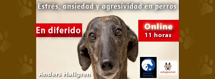 Curso estrés, ansiedad y agresividad en perros. Anders Hallgren